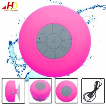 BTS06 Wireless Bluetooth Water Resistant Mini Portable Speaker (Pink)