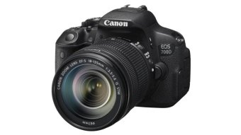 Canon EOS 700D 18MP with18-55mm F3.5-5.6 IS STM Lens Kit