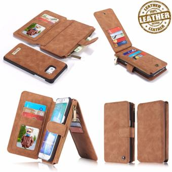CaseMe Premium Leather Wallet Case (for iPhone 7+)