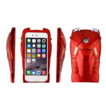 CHEER 3D Marvel Ironman Hard Back Cover Case Call LED Light Up Case For iPhone 6