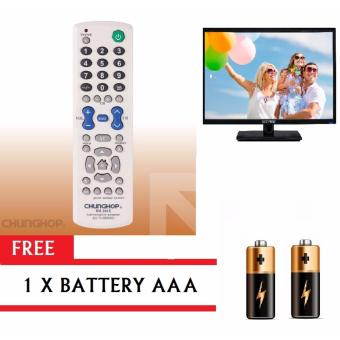 CHUNGHOP 00611 RM-306E Universal TV Remote Control with FREEBattery