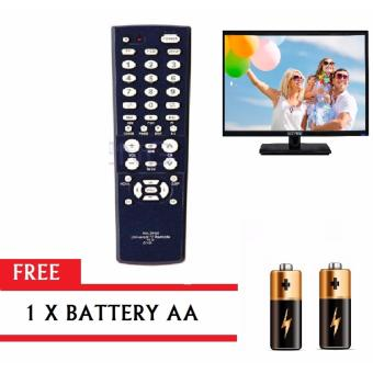 CHUNGHOP 00612 RM-398E 3IN1 Universal DVD REMOTE VCD REMOTE TVRemote Control with FREE Battery