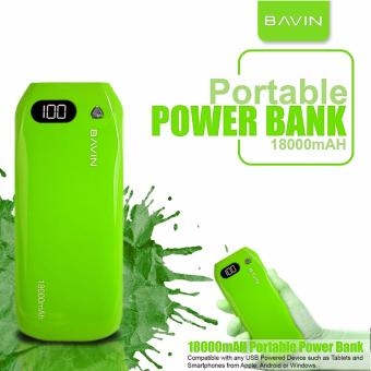 D&D Bavin PC193S 18000mAh Power Bank(Green)