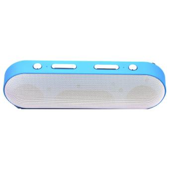 DH-13 Portable Bluetooth Dual Speakers Ultra Bass blue
