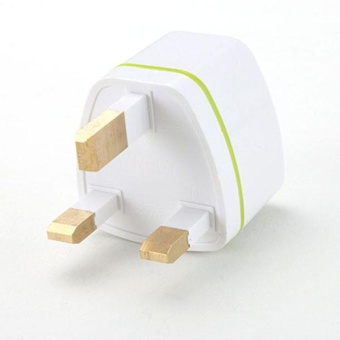Diotem Universal US EU AU Converter to UK HK AC Travel Power PlugCharger Adapter White - intl