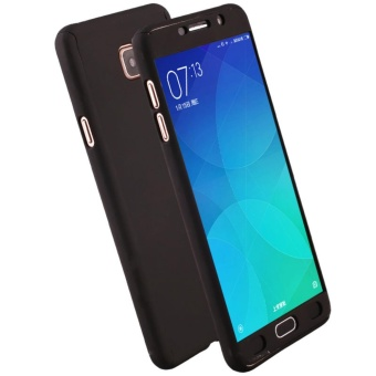 Elaike Case For Samsung Galaxy J7 Prime/On7 2016 Solid Color 360 Full Body Protective