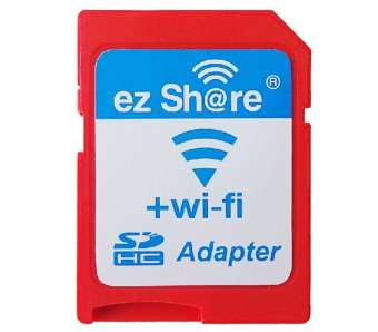 EZ Share Micro SD To WiFi SD Adapter (Red)
