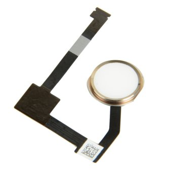 Fingerprint Sensor Home Menu Button Return Key Flex Cable for iPad Air 2 (Gold)- - intl