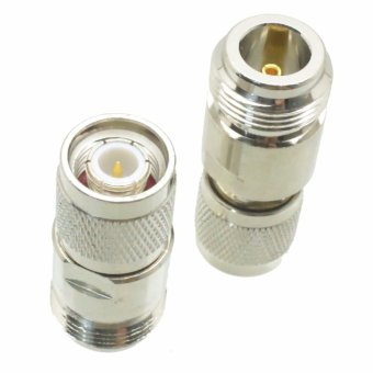 Fliegend 1pce N Female Jack To TNC Male Plug RF Coaxial Adapter Connector - Intl