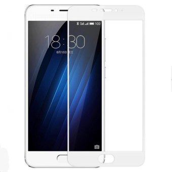 Full Covered Curved Tempered Glass Screen Protector for Meizu M3E /Meilan E - intl