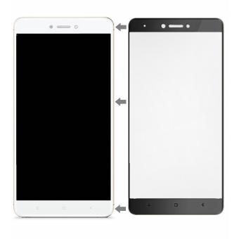Full Screen Tempered Glass Screen Protector for Xiaomi Redmi Note 4x (Black)