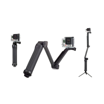 GoPro hero4/3-way accessories three fold adjustable three to support