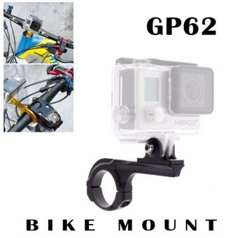 GP62 (BLACK) Gopro Accessories Bike Aluminum Handlebar Bar AdapterPro Mount For SJCAM SJ5000 M10 M20 Go Pro GoPro HD Hero 5 4 3+