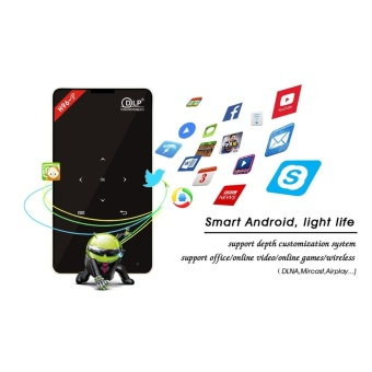 H96-P 2/16G Android 5.1 Amlogic S905 Quad Core 4K HD Handheld Smart DLP Mini Projector Support HDMI USB BT4.0 5G WIFI Portable Projector intl - intl
