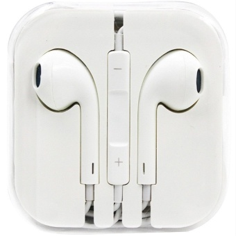 In-Ear Headphone For Iphone (White) With Free Vivo In-Ear WiredHeadset Earphone (White)