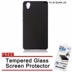 Incipiu TPU/PC Back Case for VIVO Y51 (Black) with