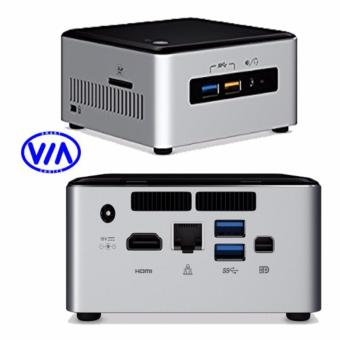 Intel NUC6i3SYH Intel core i3 2.3 GHz 4GB/ 500GB Hdd Silver Mini PC