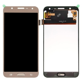 IPartsBuy For Samsung Galaxy J7 / J700 LCD Screen + Touch Screen Digitizer Assembly(Gold
