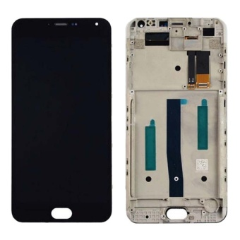 IPartsBuy Meizu M2 Note / Meilan Note 2 LCD Screen + Touch Screen Digitizer Assembly With Frame(Black) - intl