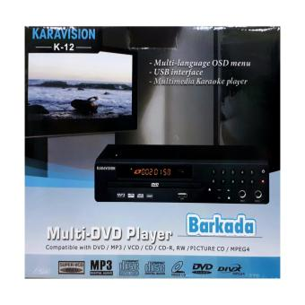 Karavision K-12 Barkada DVD MIDI Karaoke Player with 13,000+ Songs