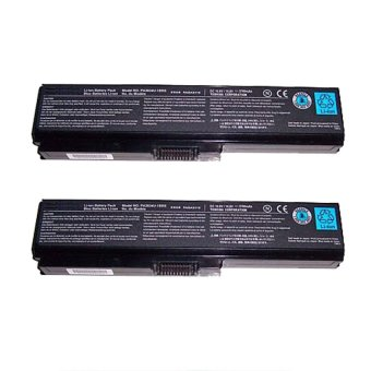 Laptop Battery for Toshiba PA3634U-1BRS Set of 2