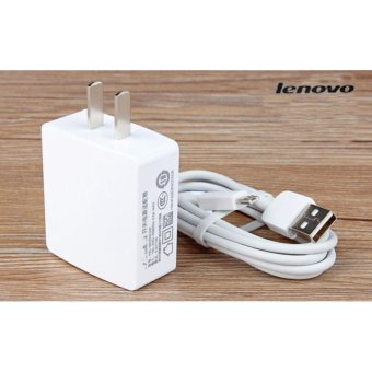 Lenovo-1A Fast Charger For Smart Phone Whit USB (White) with FreeMobile Silicone Phone Case (color may vary)
