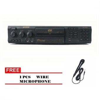 Lexing LX-8975 Karaoke DVD Player with Song Book (Black)