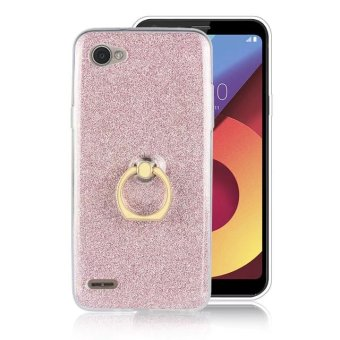LG Q6 buckle glitter phone case