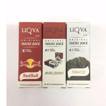 Liqua E/juice For Electronic Cigarette (Red Bull/Marlboro/Tobacco)