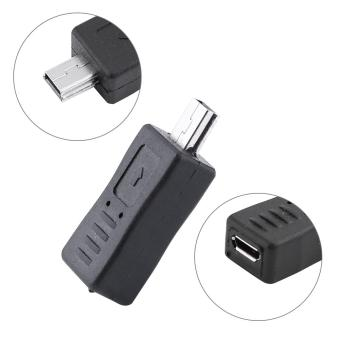 Micro USB Female to Mini Male charger Adapter Convertor Plug For Mobile Phone - intl
