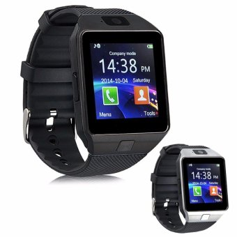 Modoex M9 Phone Quad Smart Watch (Black) Buy 1 Take 1 (Silver)