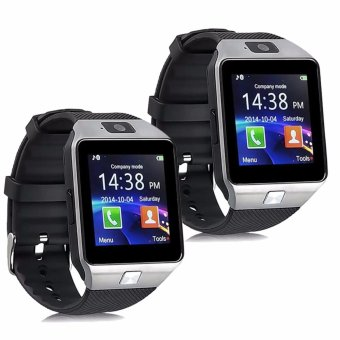 Modoex M9 Phone Quad Smart Watch (Silver) Buy 1 Take 1