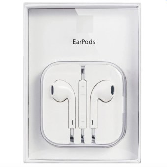 New Apple Earpods with Volume Controller and Mic (White)