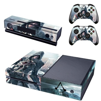 New Assassin's Creed Decal Skin Sticker For Xbox one Consoleprotection film +2Pcs Controller skin - intl