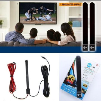 New Clear TV Key High Definition Indoor Antenna Ditch Cable Broadcast TV - intl