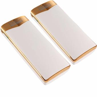 Nick co N-05 20000mah Powerbank (White/Gold) Set of 2
