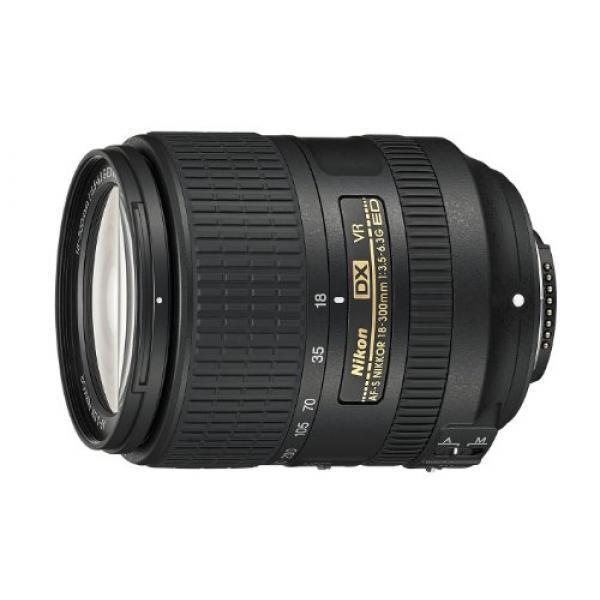 Nikon AF-S DX NIKKOR 18-300mm f/3.5-6.3G ED VR Vibration Reduction Zoom Lens
