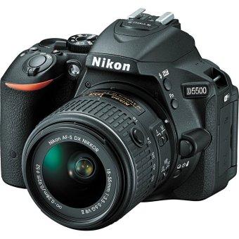 Nikon D5500 DSLR 24.2MP Camera with 18-55mm VR II Lens Kit Black