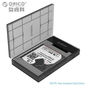 ORICO 2.5 Inch HDD Enclosure Sata 3.0 to USB 3.0 HDD Case Tool Freefor 7/9.5mm 2.5 in HDD and SSD 2TB Support - intl