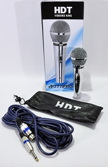 PRO HDT P-777 Microphone (Silver)