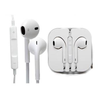 QF Apple Earpods with Volume Controller and Mic (White)