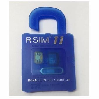 R-SIM RS-11 11 The Best Unlock and Activation SIM for iPhone 4S/5/5C/5S/6/6Plus/7/7Plus (Blue)