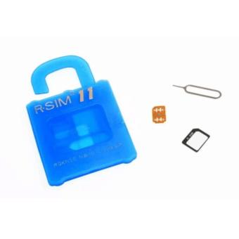 R-SIM RS-11The Best Unlock and Activation SIM for iPhone 4S/5/5C/5S/6/6Plus/7/7Plus