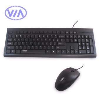 Rapoo NX1700 USB Keyboard and Mouse Combo