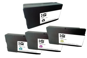 Remanufactured HP 932 XL (Black) and HP 933 XL (Cyan, Magenta, Yellow) Combo Pack