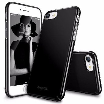 Ringke Slim Ultra Thin Cover Case for Apple iPhone 7 Plus/ Iphone 8 Plus/Iphone 8 Plus (Glossy Black)