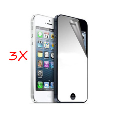 PHP 225. Roybens 3 Pcs Ultra Thin Mirror Front Screen Protector for iPhone ...