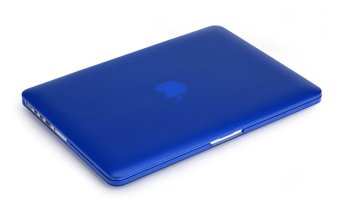 Rubberized Protective Tablet Case For Apple Mac-book 13.3 Inch pro(blue)
