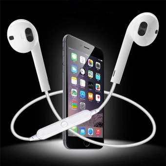 S6 Bluetooth Headset Wireless Earphone Headphone with Microphonefor Samsung Galaxy iPhone HTC Sony Xiaomi Mobile phone headset -intl
