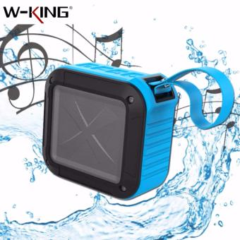 S7 W-KING Waterproof Outdoor Bluetooth 4.0 Wireless Speaker (Blue)